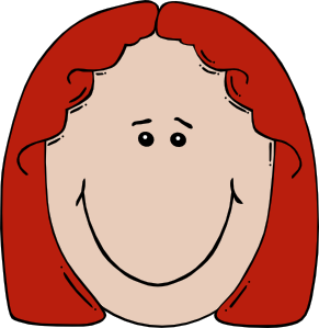 291x299 Caricature Clipart Confused Face