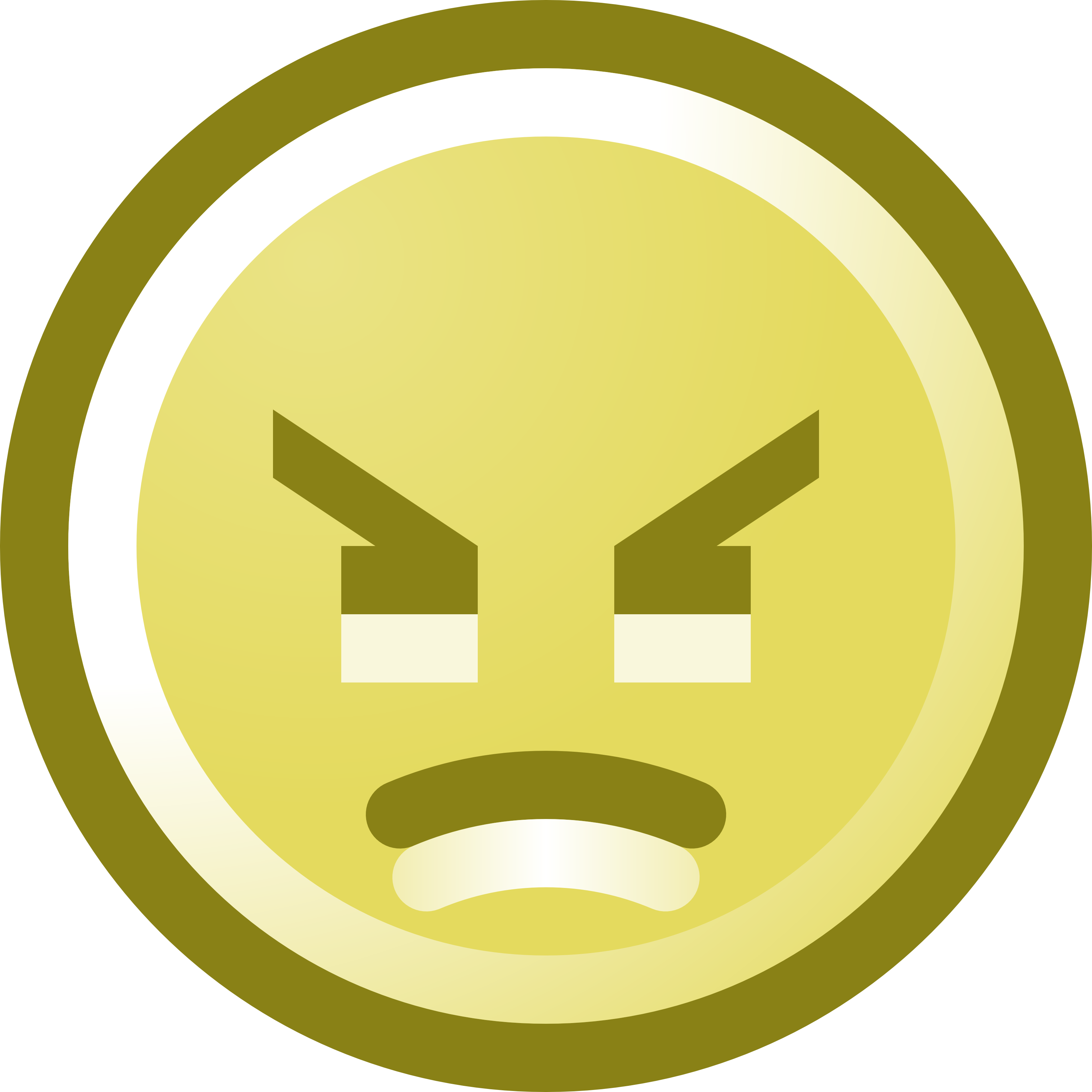 3200x3200 Clip Art Angry Mean Smiley Clipart