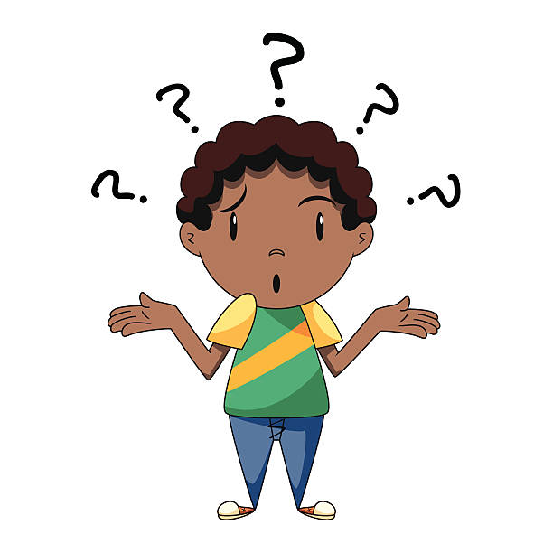 612x612 Little Boy Clipart Confused