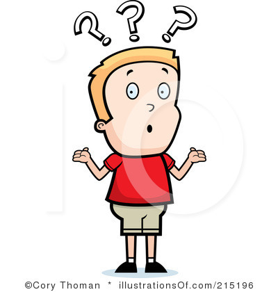 400x420 Way Clipart Confused Person