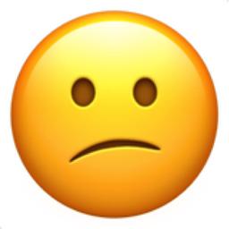 256x256 Confused Face Emoji U 1f615