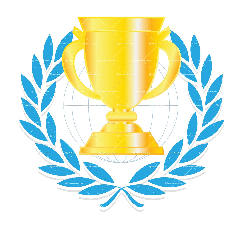 1500x1500 Trophy Clipart Congrats