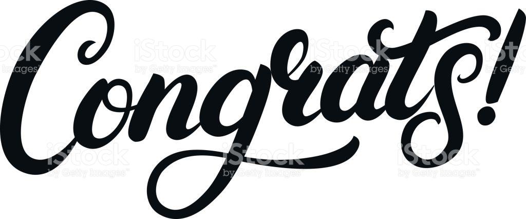 1024x426 Calligraphy Clipart Congrats
