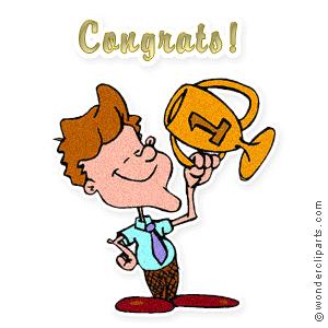 300x300 Congratulations Clipart Images