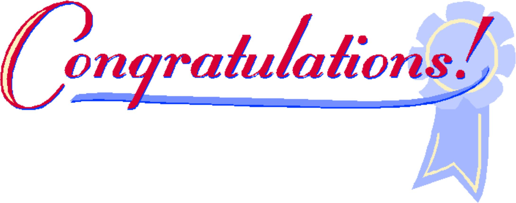 2178x860 Congratulations Clip Art Clipart 3