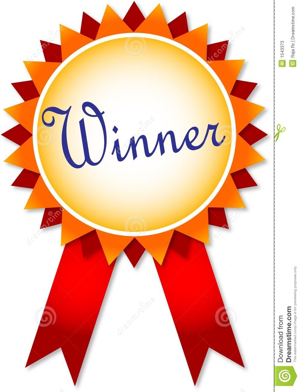 999x1300 Winner Ribbon Clipart