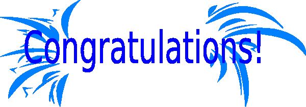 600x210 Best Congratulations Clipart