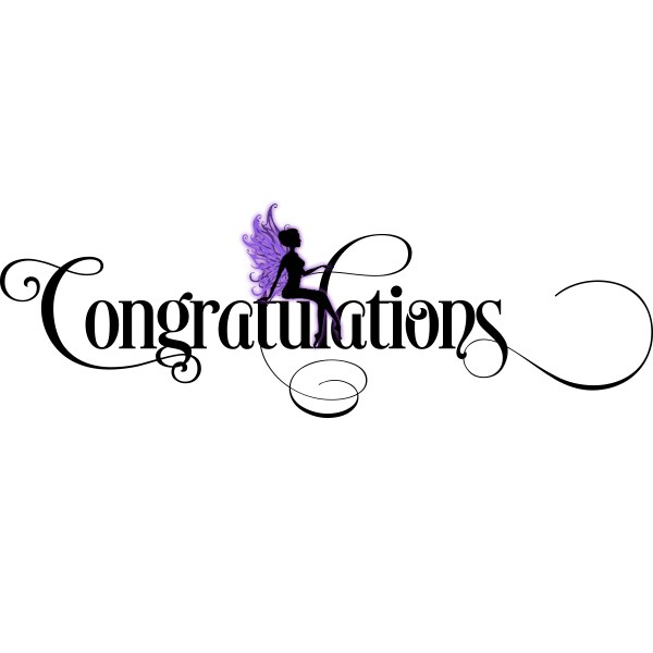 600x600 Congratulations Svg File