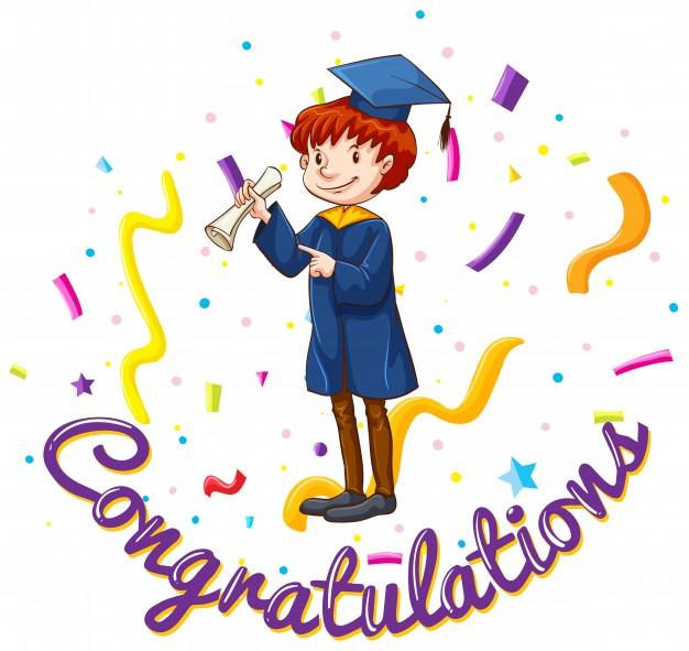 626x591 Graduation Congratulations Vectors, Photos And Psd Files Free