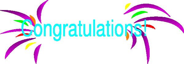 600x210 Moving Clipart Congratulation