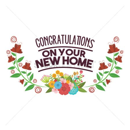 450x450 Free Congratulations On Your New Home Stock Vectors Stockunlimited