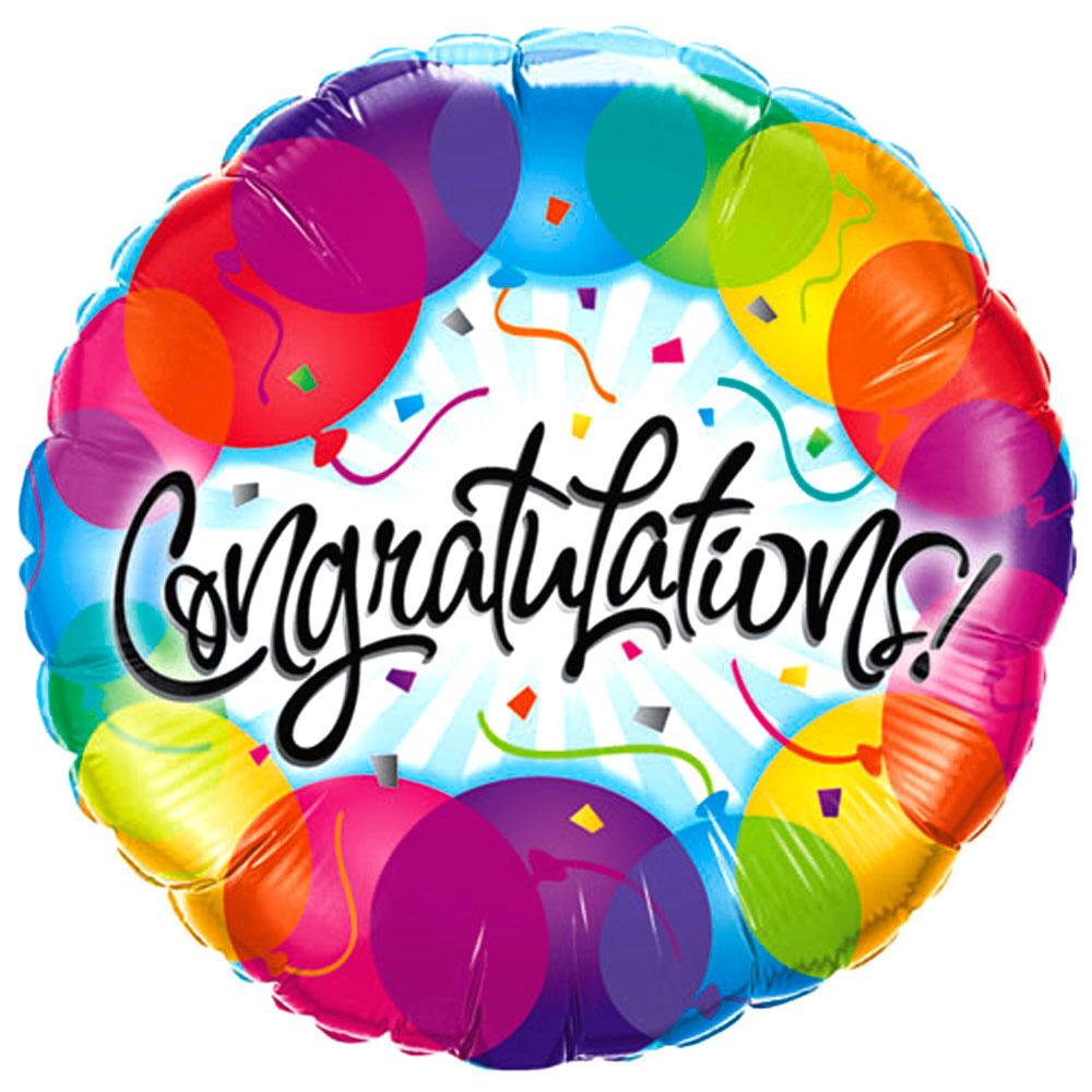 1000x1000 Balloon Clipart Congratulation