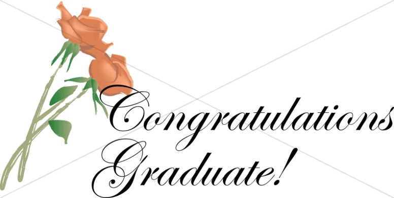 776x391 Congratulations Flowers Christian Graduation Clipart And Images