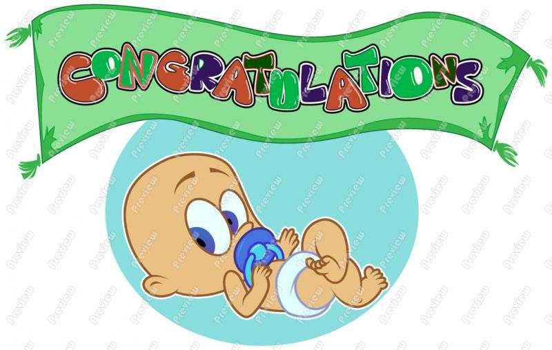 800x507 Baby Boy Congratulations Clipart, Congrats To You Clip Art
