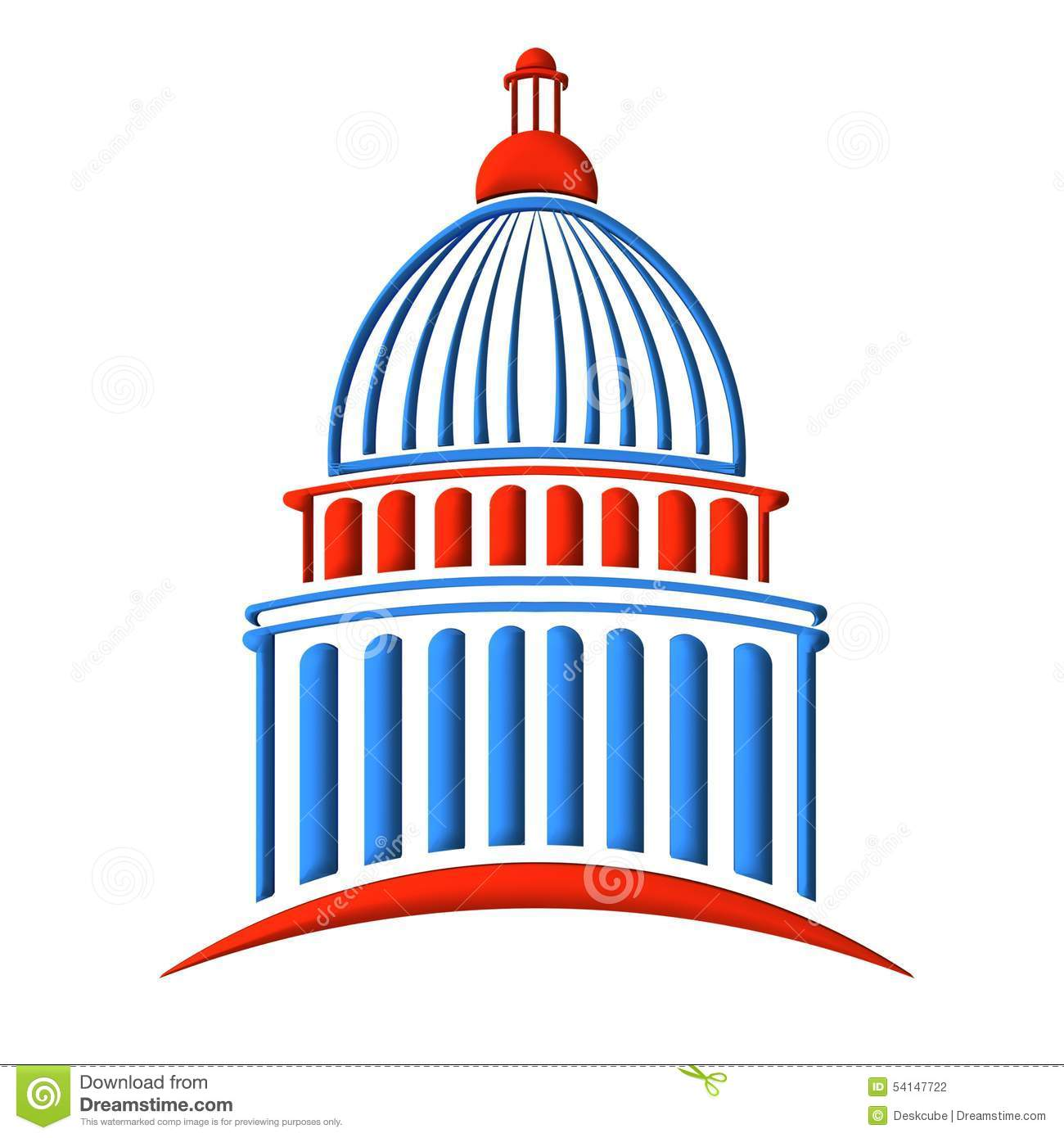 1300x1390 Dome Clipart Congress Building