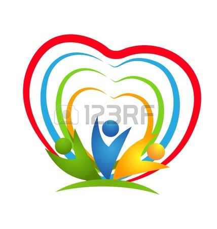 428x450 People Heart Connections Icon Vector Royalty Free Cliparts