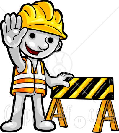 403x450 Construction Worker Clipart