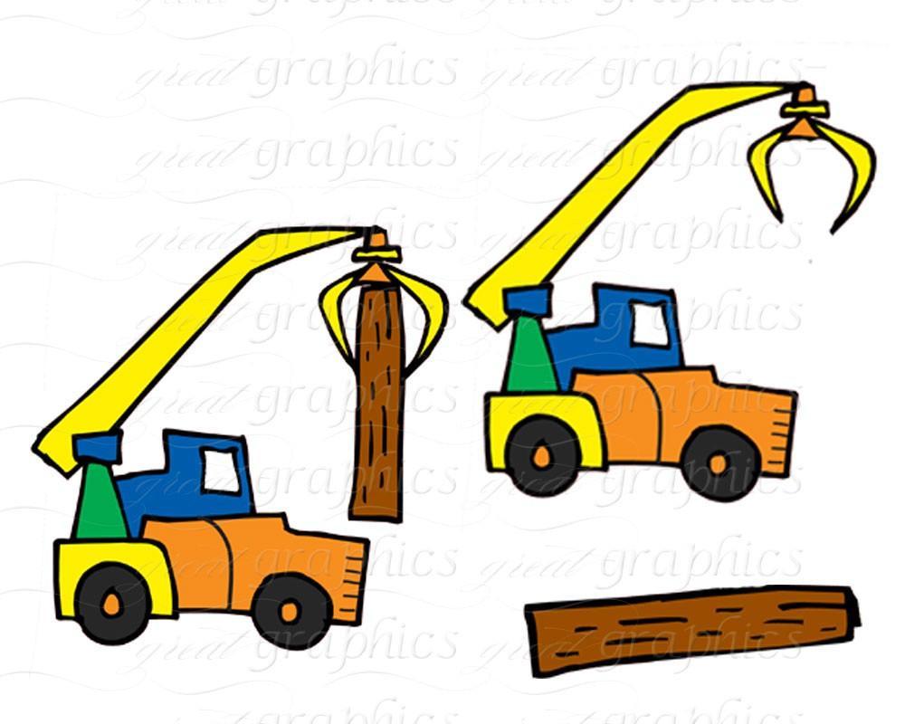 1000x800 Construction Clipart Truck Clip Art Kids Digital Clip Art
