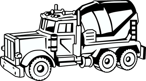 500x278 New Construction Vehicle Clip Art For Custom T Shirt Design