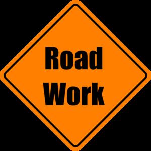 300x300 Construction Sign Clip Art
