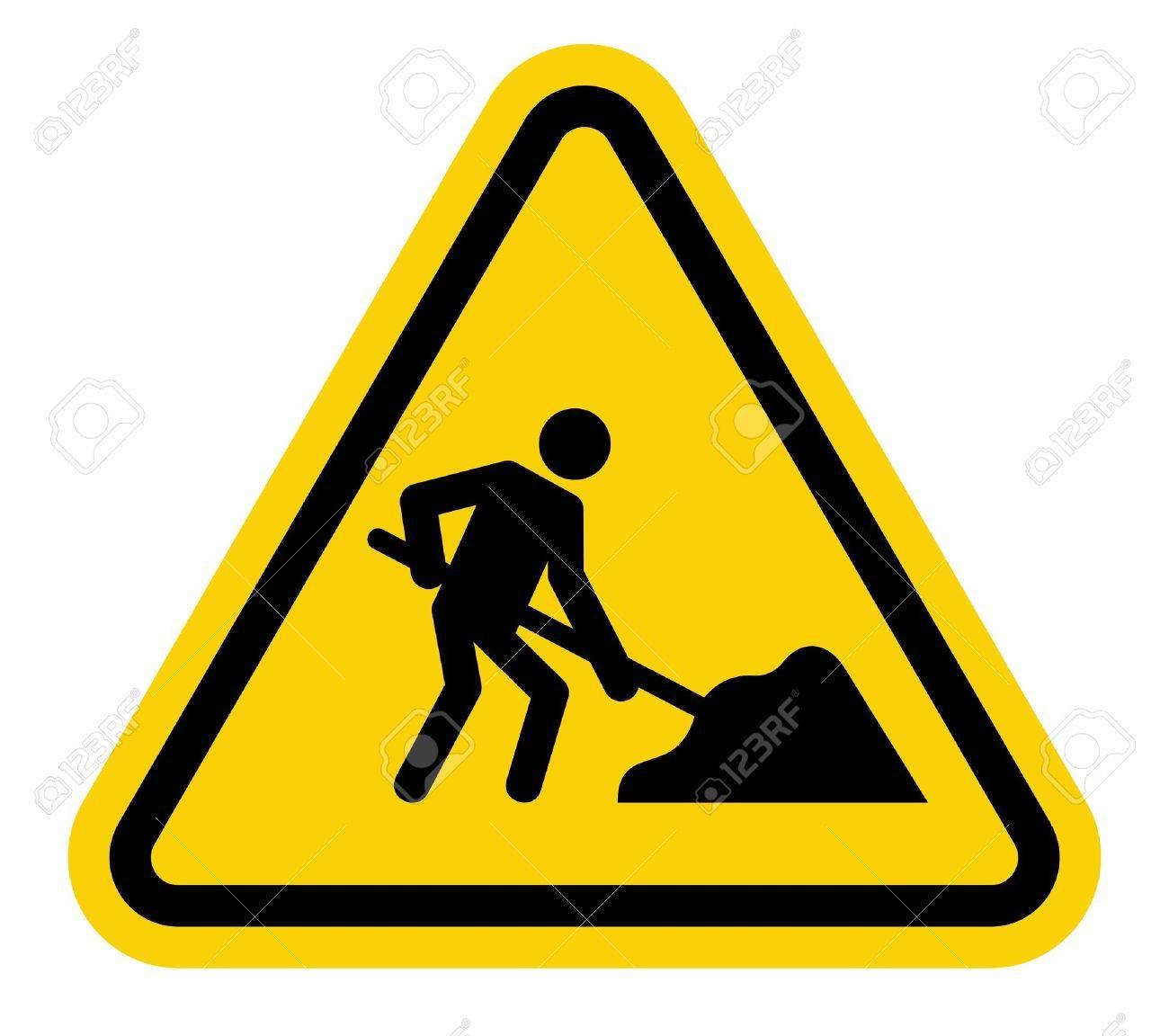 1300x1152 Under Construction Road Sign Royalty Free Cliparts, Vectors,