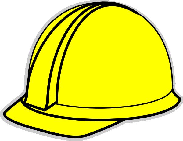 600x462 Yellow Hard Hat Clip Art