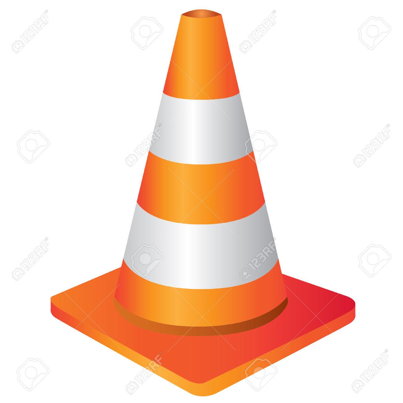 1300x1300 Cone Clipart Construction Border