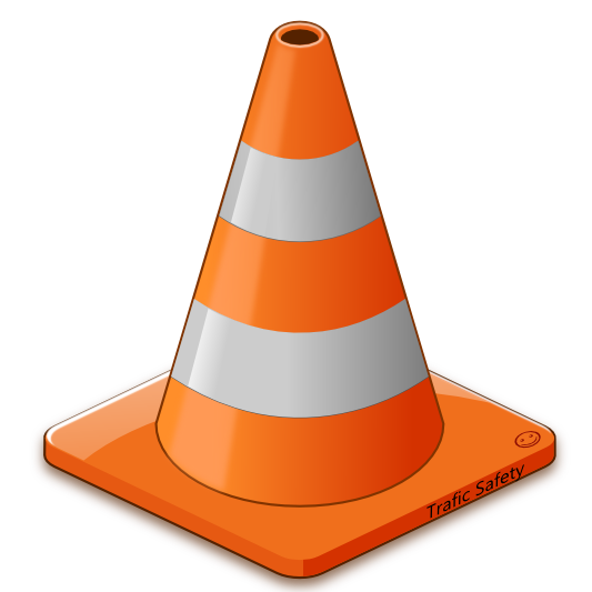 533x533 Cone Clipart Orange Objects
