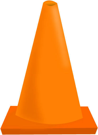 412x570 Cone Clipart Road Work