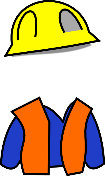 360x600 Construction Cone Clip Art