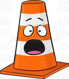 236x272 Traffic Cone Character Looking Outraged And Angry Emoji Angry Emoji