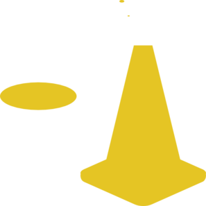 297x297 Traffic Cone Clipart