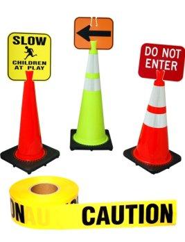 267x348 Traffic Cones