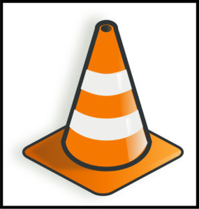 285x300 Cone Traffic Clip Art
