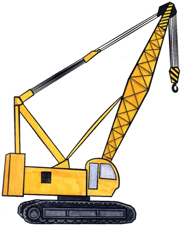 Construction Crane Clipart
