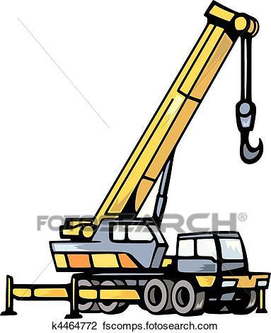 383x470 Construction Crane Clipart Eps Images. 7,335 Construction Crane