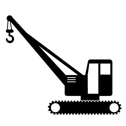 500x500 Crane Clipart