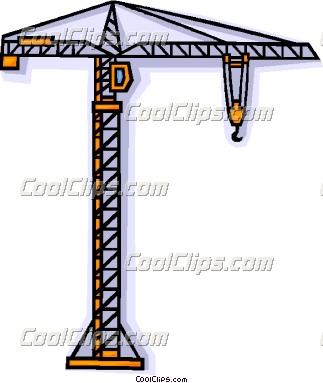 323x383 Crane Clipart Construction Crane