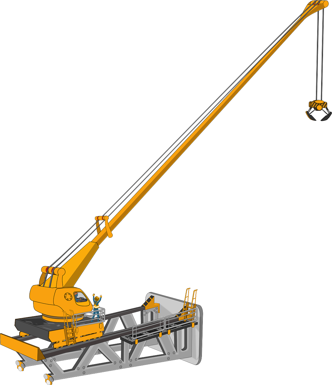 1102x1280 Crane Free To Use Clipart