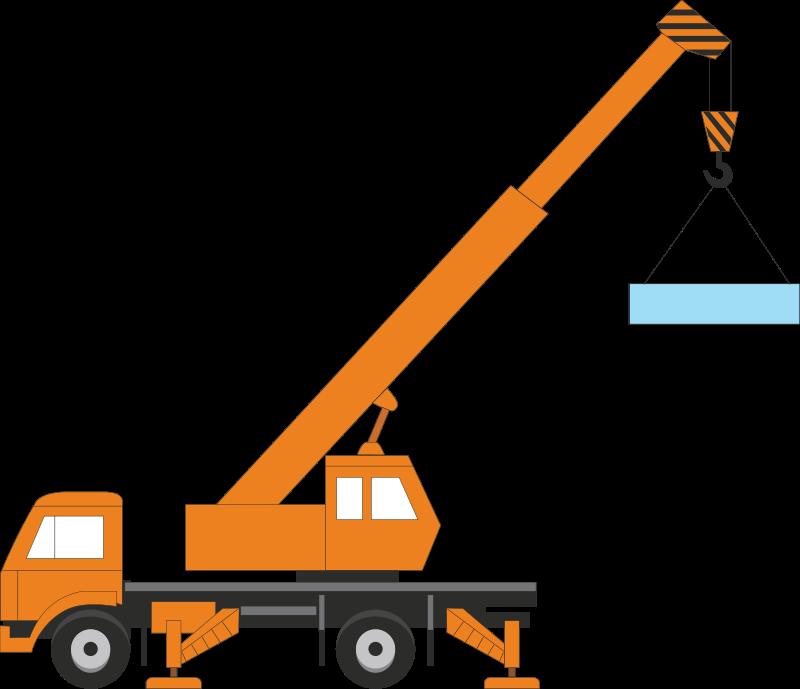 800x689 Machine Clipart Construction Crane