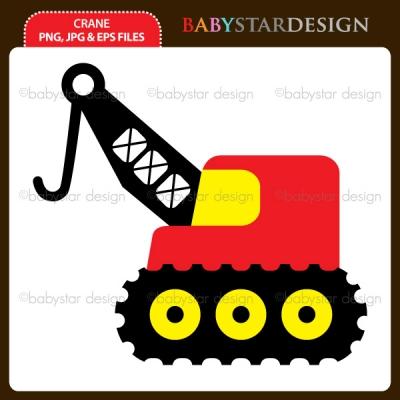 400x400 Crane Clip Art