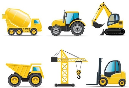 540x368 Construction Vehicle Clipart Free Vector Download (4,440 Free