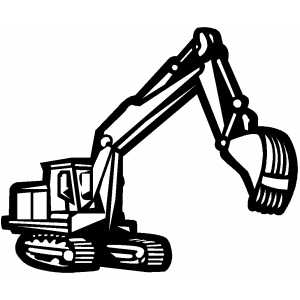 300x300 Excovator Clipart Construction Equipment