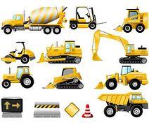 212x179 Construction Equipment Clipart