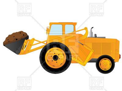 400x300 Heavy Wheeled Excavator With Bucket