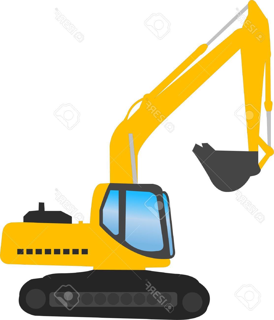 1114x1300 Best Free Excavator Vector Stock Digger Construction Design