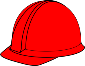 297x231 Red Hard Hat Clip Art