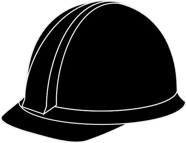 600x459 White Hard Hat Clip Art