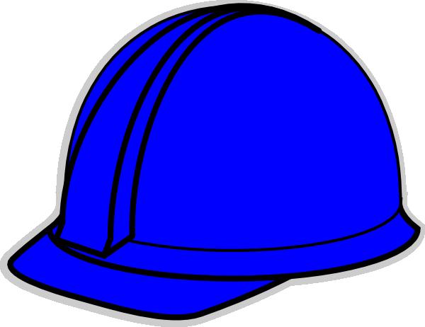 600x462 Blue Hard Hat Clip Art