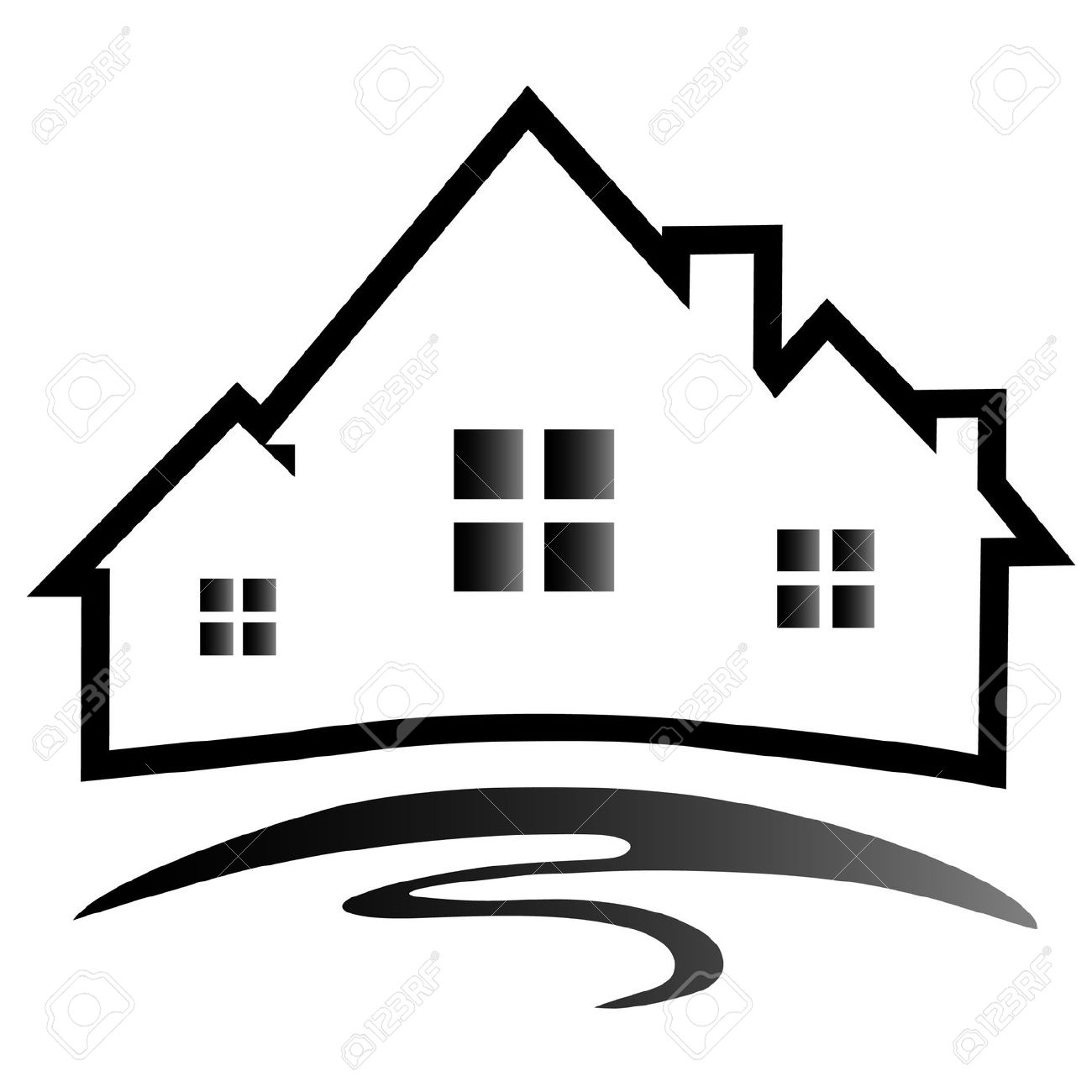 1300x1300 House Construction Clipart